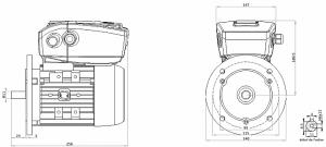 Code moteur: 63A-2B5  Code Variateur: NANO-0.75